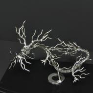 ネジアート昇龍すべて手作りユニークアート雑貨 インテリアやプレゼントにぜひ