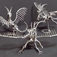 ネジアート西洋ドラゴン すべて手作りユニークアート雑貨 インテリアやプレゼントに最適です。