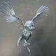 ネジアート 飛び立つフクロウ