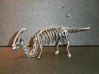 ネジアート 大型パラサウロロプス