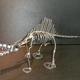 ネジアート スピノサウルス骨格 手作りアート作品