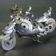 ネジアート リアルバイク