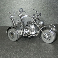 ネジアート 後ろ3輪バイク