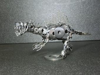ネジアート リアルスピノサウルス